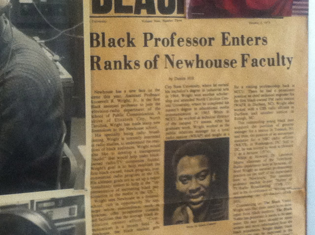 Black Professor Named to the Faculty