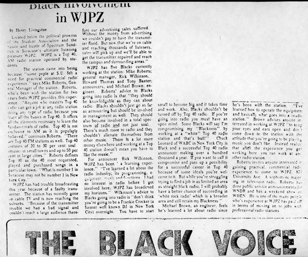 Black Voice Article